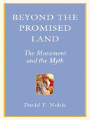 Beyond the Promised Land Book