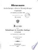 Obravnave Dez̆elnega Zbora Kranjskega v Ljubljani po Stenografic̆nih Zapisnikih. Verhandlungen des Krainischen Landtages