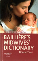 Bailliere S Midwives Dictionary