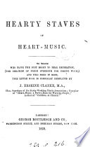 Hearty staves of heart music  selected  by J E  Clarke