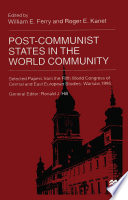 Post Communist States in the World Community