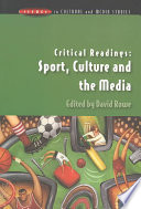 Critical Readings  Sport  Culture And The Media