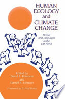 Human Ecology And Climate Change