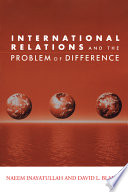 International Relations and the Problem of Difference