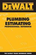 Dewalt Plumbing Estimating