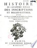 M  moires de l Institut national de France