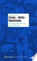 Europa - Antike - Humanismus