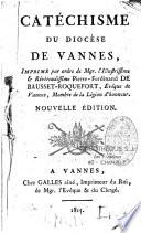 Cat  chisme du dioc  se de Vannes