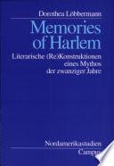 Memories of Harlem