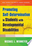 Promoting Self determination in Students with Developmental Disabilities