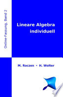 Lineare Algebra individuell  Online Fassung