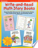 Write And Read Math Story Books