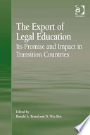 The Export of Legal Education
