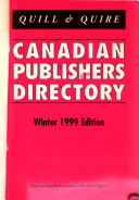 Canadian Publishers' Directory