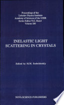 Inelastic Light Scattering In Crystals book