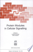Protein Modules In Cellular Signalling book