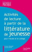 Activités lecture à partir de la littérature de jeunesse Book