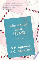 Information India 1992-93 : Global View