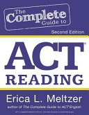 The Complete Guide to ACT Reading  2nd Edition