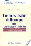 Exercices r  solus de thermique