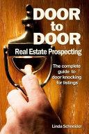 Door to Door Real Estate Prospecting