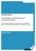 Darstellungen der Bild Zeitung im deutschen Spielfilm