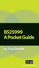 BS25999: A Pocket Guide