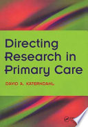 Directing Research in Primary Care