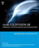 Adobe ColdFusion Web Application Construction Kit
