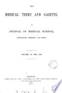 medical times and gazette