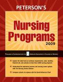 Nursing Programs 2009