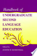 Handbook of Undergraduate Second Language Education