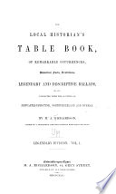 The Local Historian s Table Book