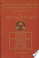 Immunotoxicology And Immunopharmacology book