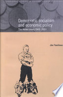 Democratic Socialism And Economic Policy book