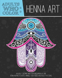 Adults Who Color Henna Art