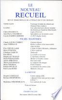 Le nouveau recueil N   61 D  cembre 2001 F  vrier 2002   Films Hantises