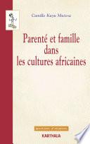 illustration du livre Parenté et famille dans les cultures africaines