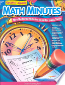 Math Minutes  2nd Grade  eBook