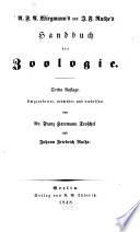 A.F.A. Wiegmann's und J.F. Ruthe's Handbuch der Zoologie