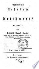 Handbuch der reinen Mathematik