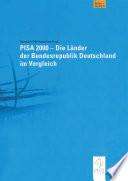 Pisa 2000 Die L Nder Der Bundesrepublik Deutschland Im Vergleich