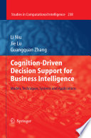 Cognition Driven Decision Support for Business Intelligence