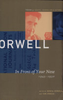 George Orwell  In front of your nose  1946 1950