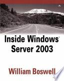 Inside Windows Server 2003