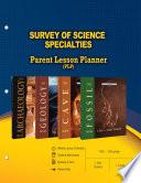 Survey of Science Specialties Parent Lesson Plan