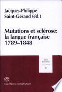 Mutations et sclérose