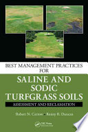 Best Management Practices for Saline and Sodic Turfgrass Soils