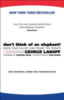 Don't Think of an Elephant! Book Cover