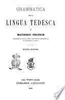 Grammatica della lingua tedesca di Maurizio Fritsch